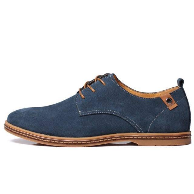 Men's Elegant Cow Suede Shoes