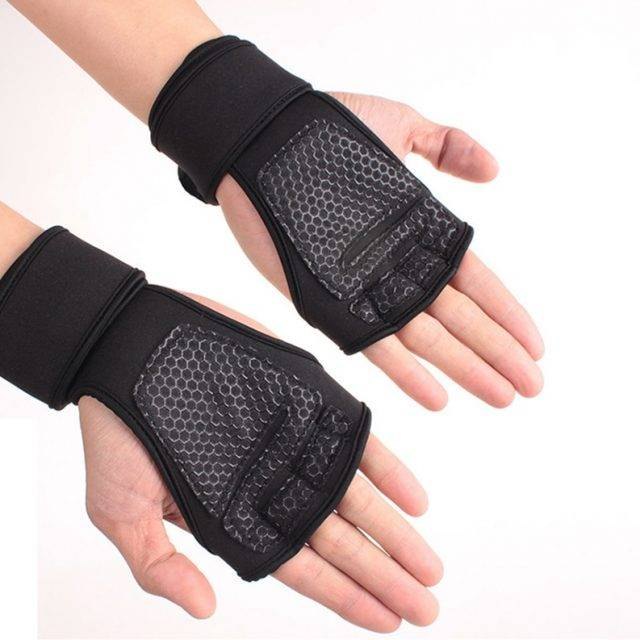 Men's Fitness Half Finger Gloves