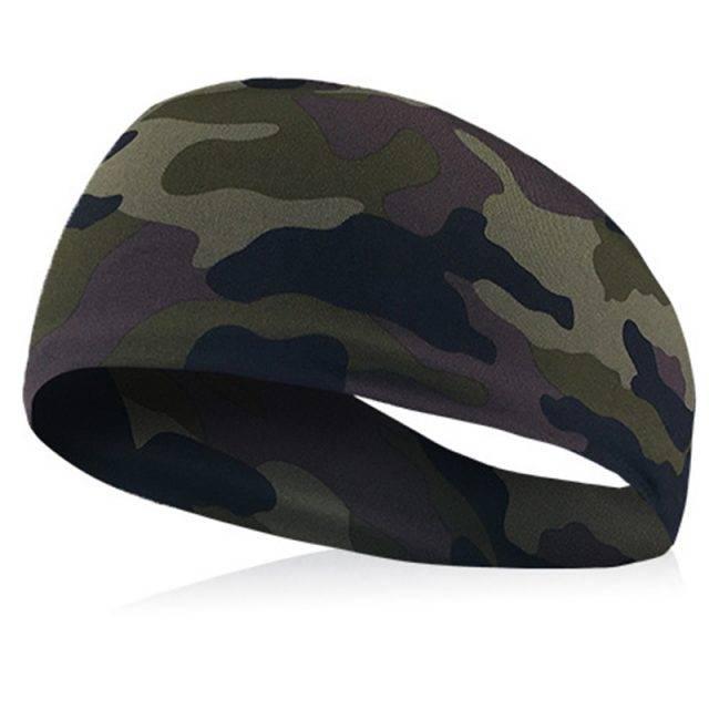 Men's Patterned Elastic Headband
