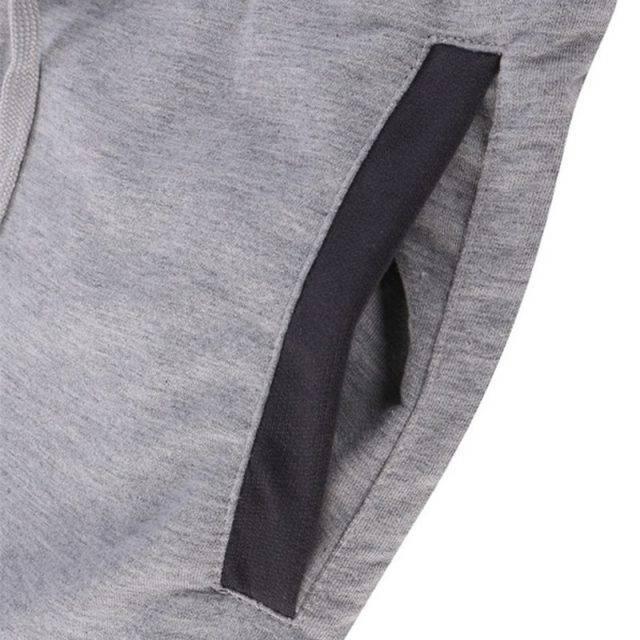 Comfortable Knee-Length Elastic Cotton Men's Joggers