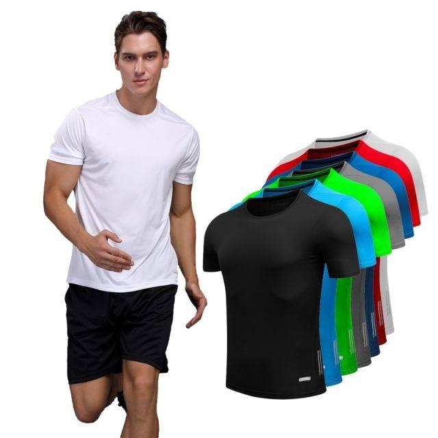 Men's Quick Dry Gym T-Shirts