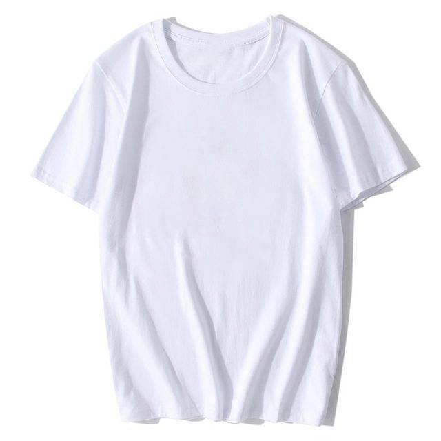 Men's Solid Color Cotton T-Shirt