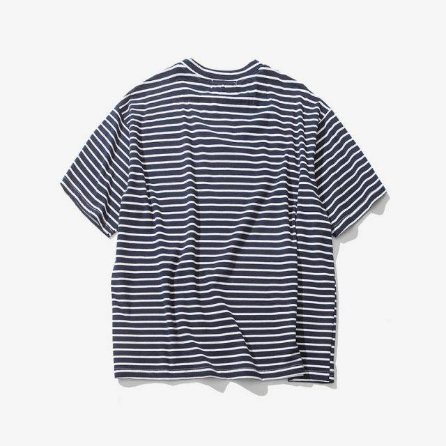 Men's Embroidered Striped T-Shirt