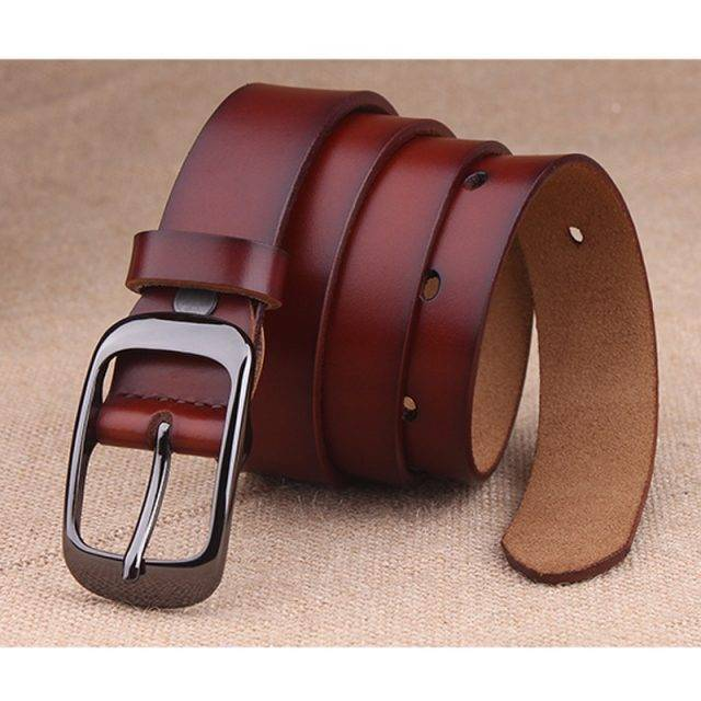Fashion Colorful Genuine Leather Women's Belt