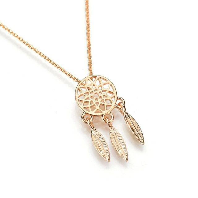Women's Dream Catcher Design Necklace