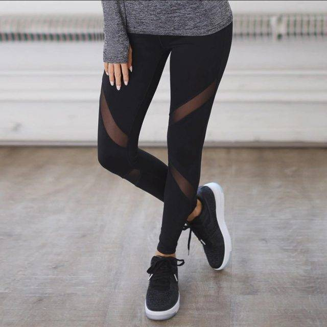 Women's Mesh Leggings