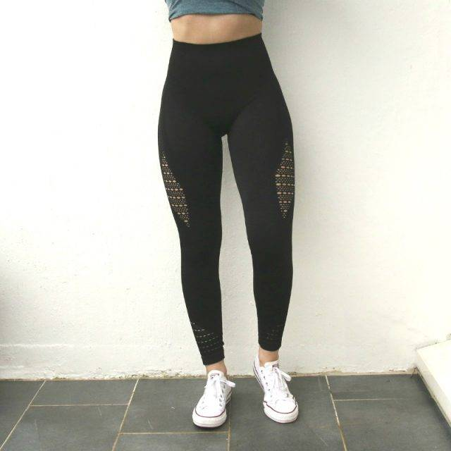 Seamless Super Stretchy High Waist Sport Leggings for Women