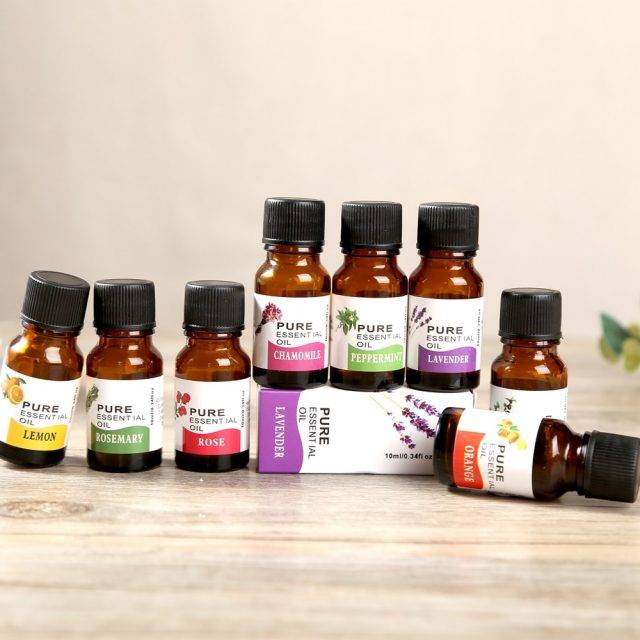 Essential Oils for Aromatherapy 10ml