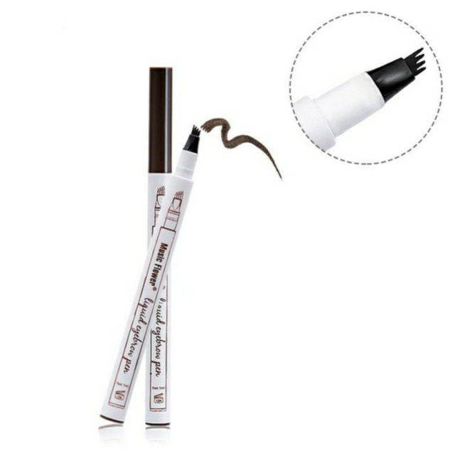 Eyebrow Enhancing Pen with 4 Head Applicator