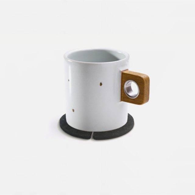 Sheep Shaped Anti Slip Tea Coasters