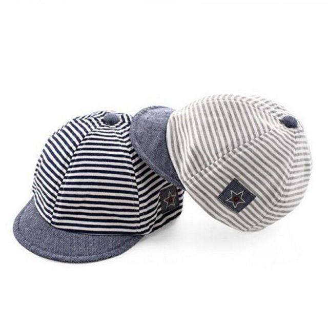 Summer Cotton Baby Boy Cap