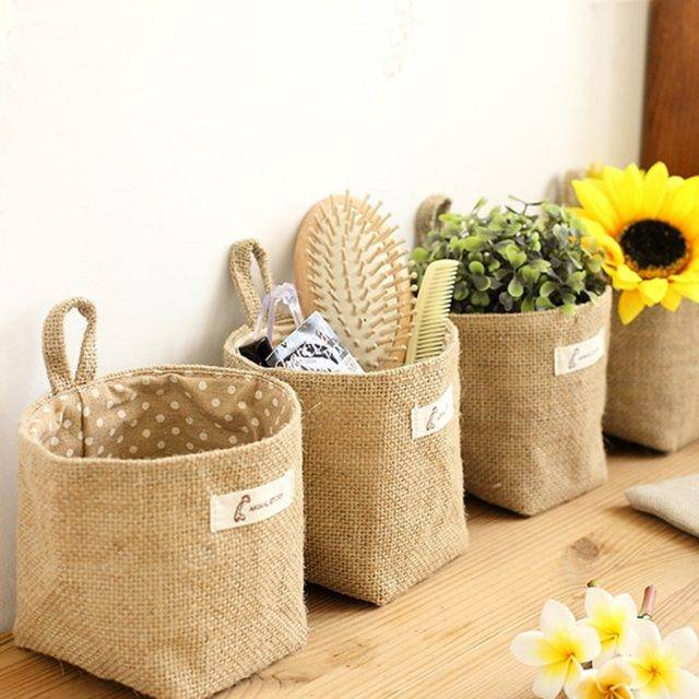 Eco-Friendly Soft Storage Basket
