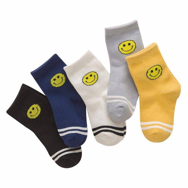 Cute Colorful Soft Cotton Kid's Socks