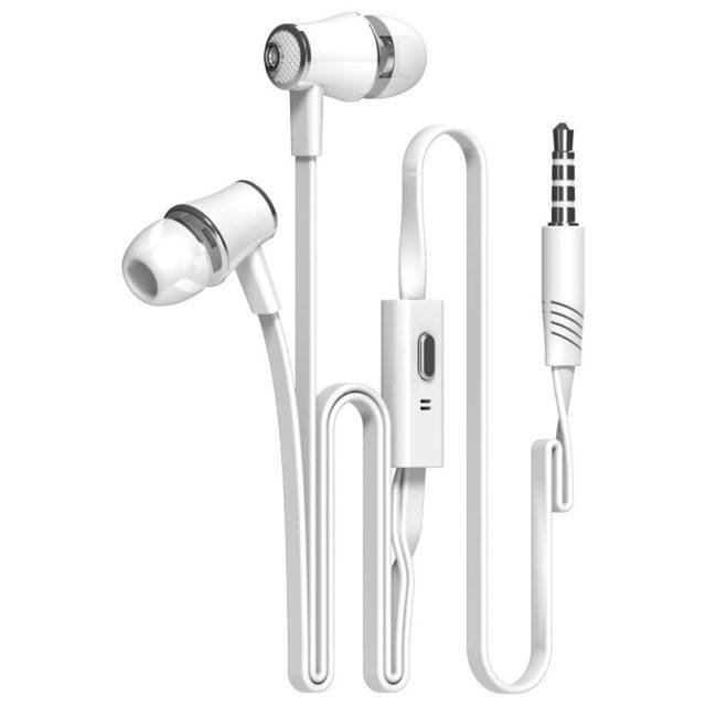 Colorful Flexible Hi Fi In Ear Earphones with Microphone