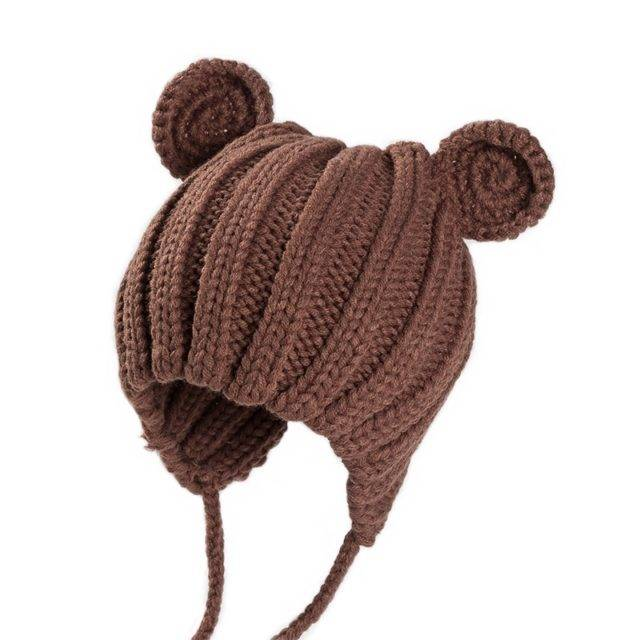 Baby's Winter Hat with Ears