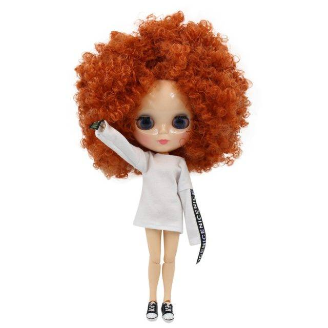 Colorful Hair Blyth Doll with Normal/Joint Body for Kids