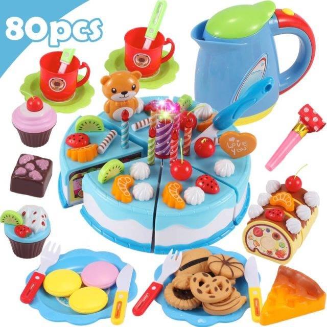 Birthday Cake Pretend Toy Set