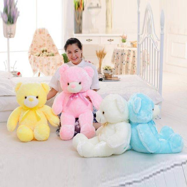 Luminous Bear Plush Toy