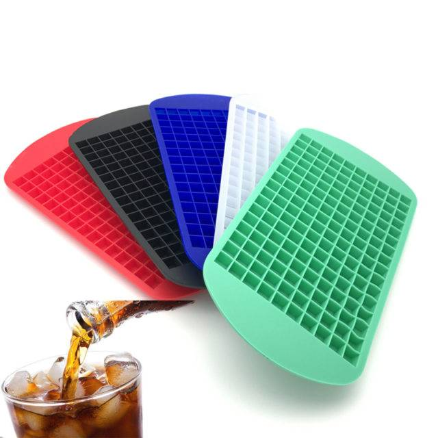 Silicone Ice Cube Tray with 160 Compartments
