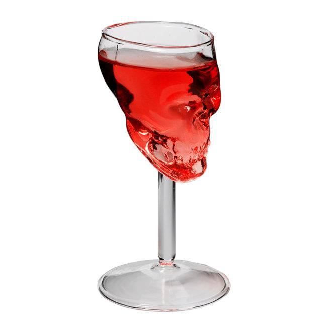 75 ml Skull Shaped Glass