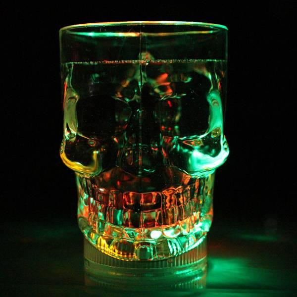 LED Skull Shot Glass