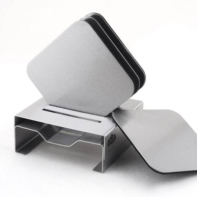 Stainless Steel Coaster Set