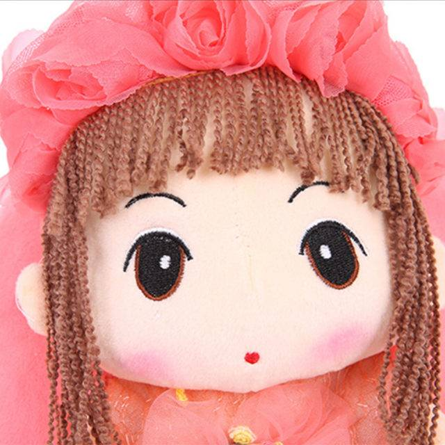 Lovely Doll Shaped Plush Backpacks