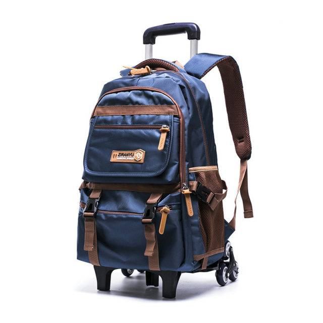 Removable Luggage Bags with 2/3 Wheels for Kids