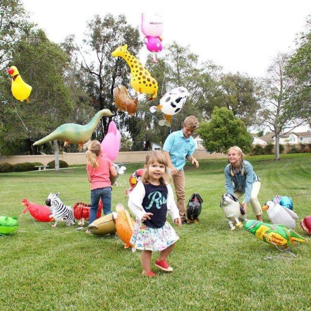 Walking Animal Shaped Balloons
