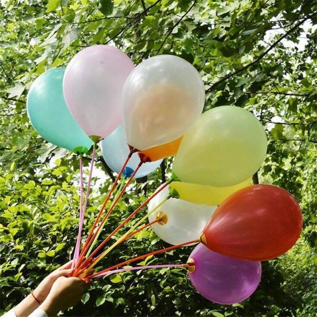 Latex Balloons, 10 Pcs Set