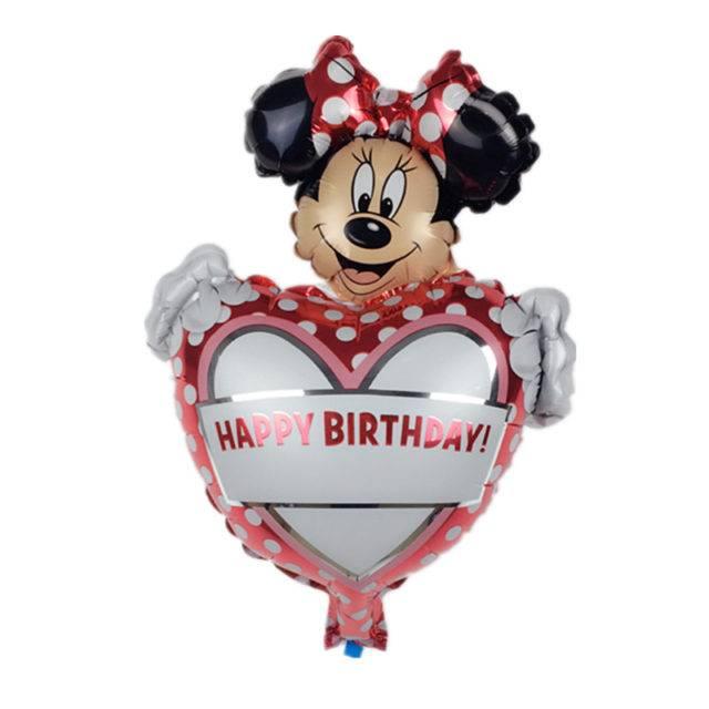 Minnie Mouse Aluminum Foil Balloons