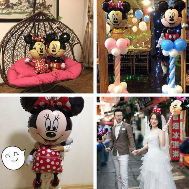 Mickey Mouse Shaped Balloons for Party Decoration