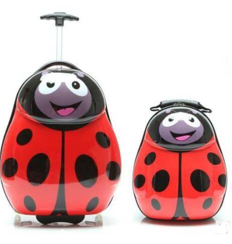 Kid's Cartoon Themed Travel Suitcase