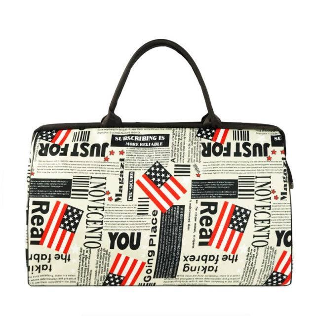 Waterproof Printed Large Capacity Bags