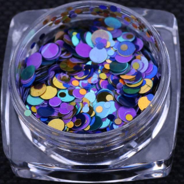 Women's Iridescent Glitter Flakes