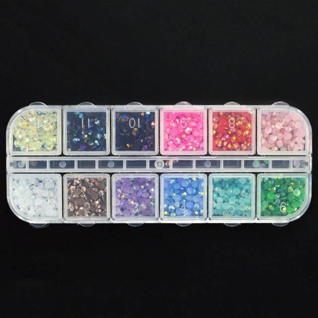 Colorful Nail Art Rhinestones