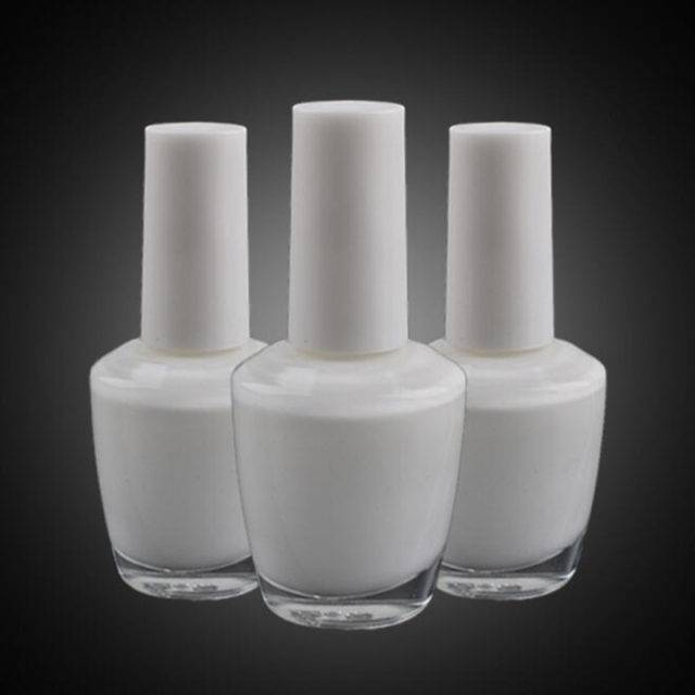 White Professional Nail Glue for Foil and Sticker Nail