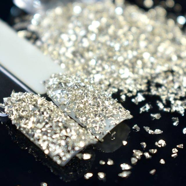 Champagne Nail Glitter