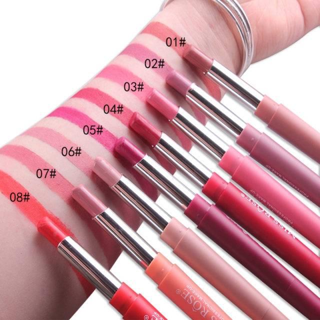 14 Color Double-End Lipstick Pen