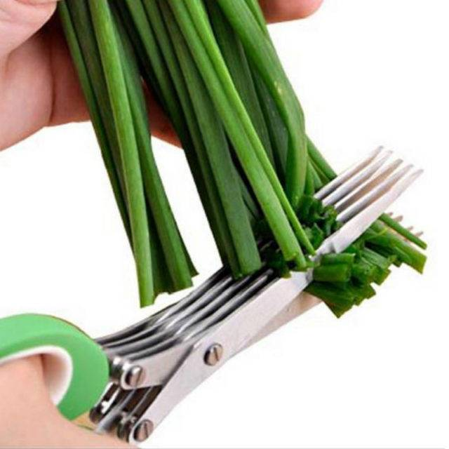 Greens and Onion Cutting Scissors