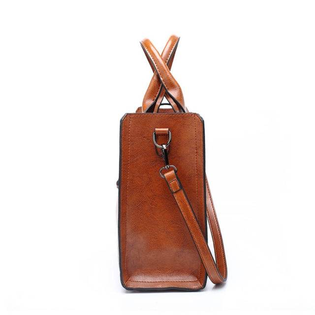 Women's Elegant Leather Shoulder Bag