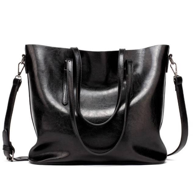 Women's Casual Tote Leather Handbag