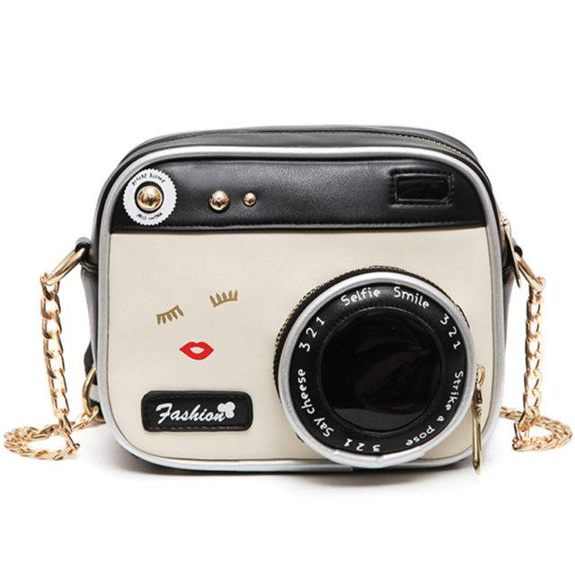 Women's Vintage Camera Shaped Bag