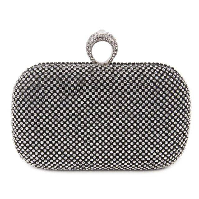 Women's Vintage Style Crystal Clutch