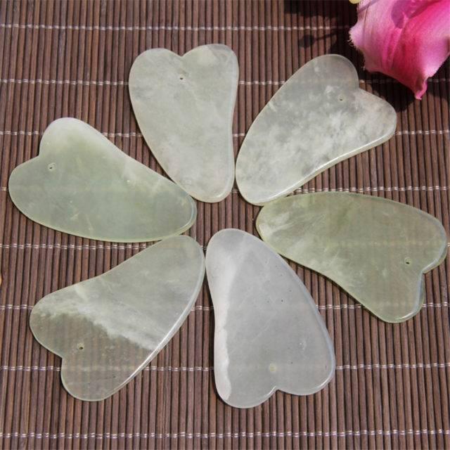 Jade Scraping Boards for Gua Sha Massage