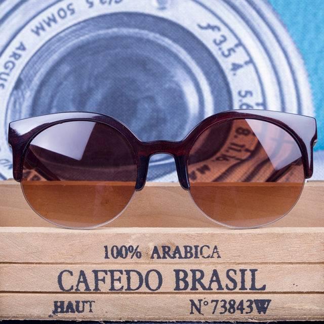 Women's Vintage Round Sunglasses