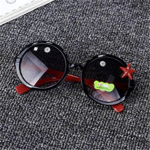 Children's Flexible Round Sunglasses