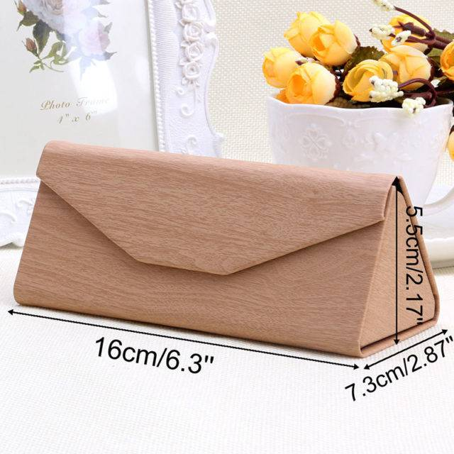 Light Triangular Folding Glasses Cases