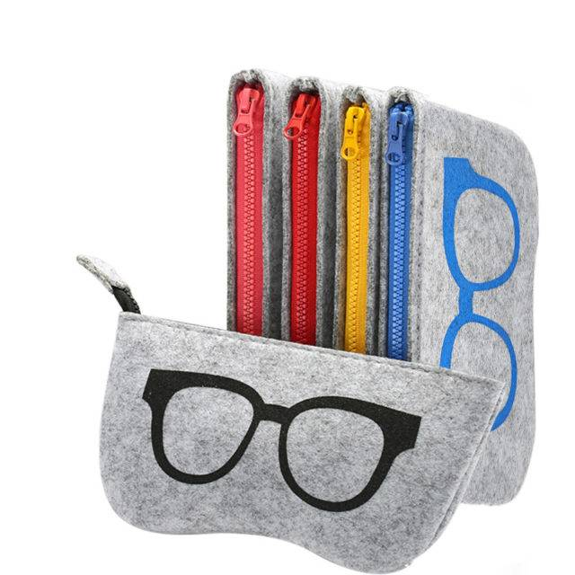 Colorful Felt Glasses Cases