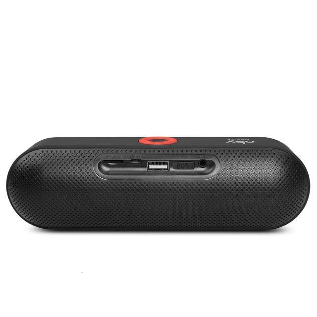 Wireless Portable Speaker with Built-In Microphone